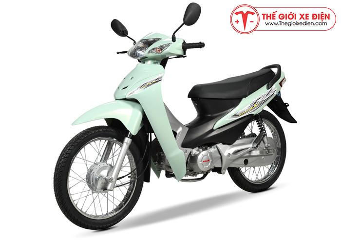 Xe máy wave halim 50cc màu xanh ngọc