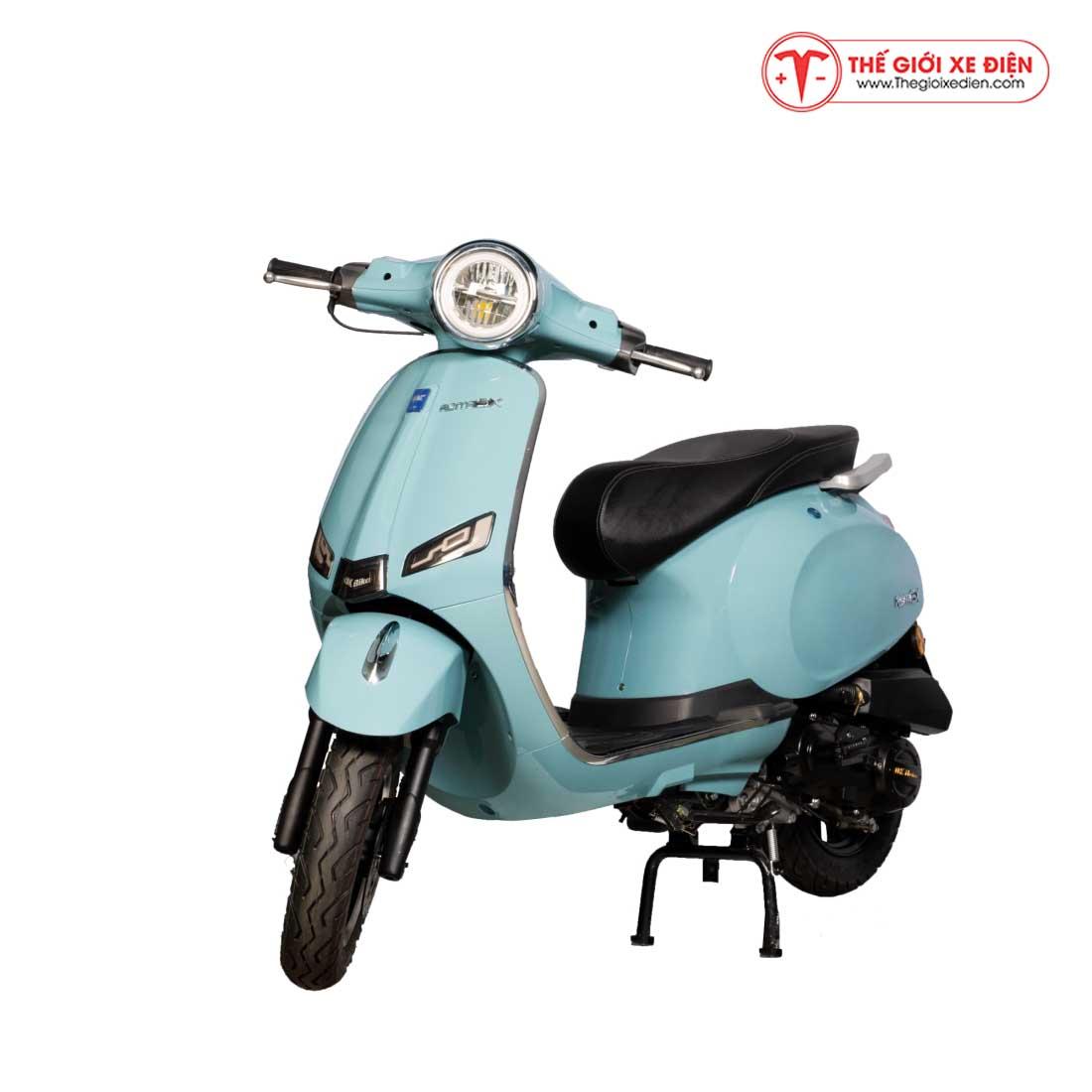 Xe Ga 50cc Roma SX DK Bike Màu Xanh Ngọc
