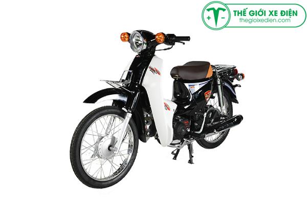 Xe máy 50cc Cub Detect màuđen huyềnảo