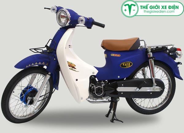 Xe Cub 50cc Honda little màu xanh da trời
