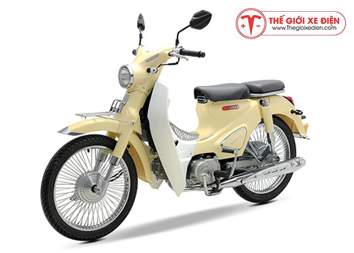 Xe cub Classic new 50cc Thái lan màu kem