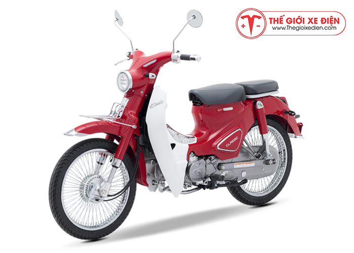 Xe máy Cub Classic 110cc Thailand Đỏ
