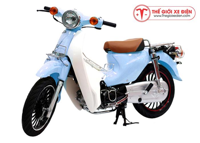 Xe cub lùn 50cc màu xanh biển