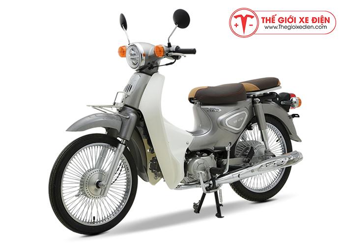 Xe máy Cub 81 New 2019 màu bạc