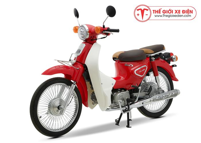 Xe máy Cub 81 New 2019 màu đỏ