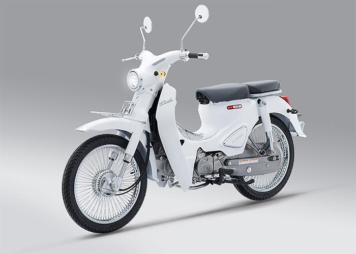 Xe máy Cub Classic 110cc Thailan Bạc