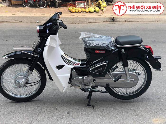 Xe máy Cub Classic 110cc Thailan Đen Nhám