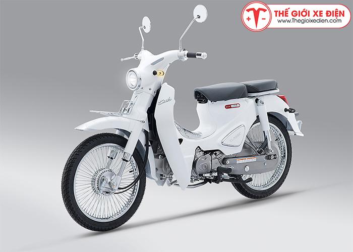 Xe máy Cub Classic 110 Thailand Trắng