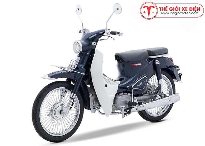 Xe máy Cub Classic 110 Thailand xanh cửu long