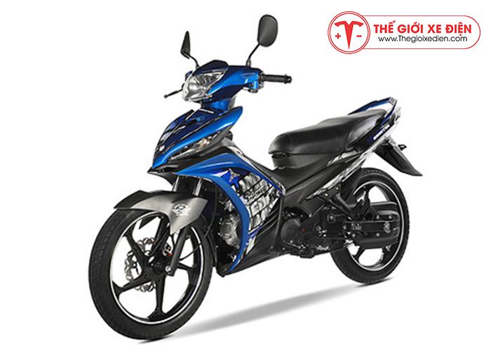 Xe máy 50cc exciter màu xanh