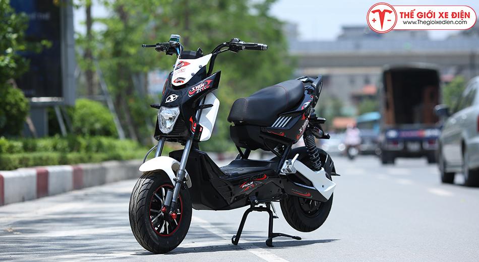 Xe máy điện Xmen Fuji 2 giảm sóc 2020 trắng