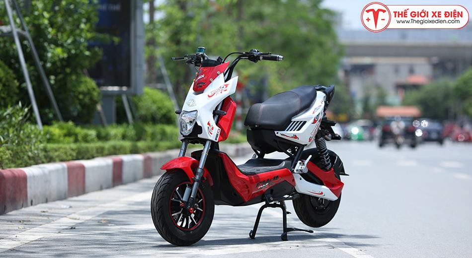 Xe máy điện Xmen Fuji 2 giảm sóc 2020 màu đỏ